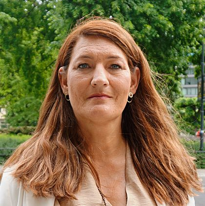 Susanna Gideonsson, Ordförande för LO